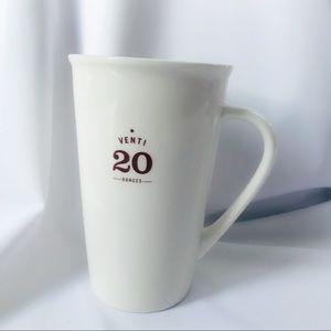 Starbucks venti mug 2010
